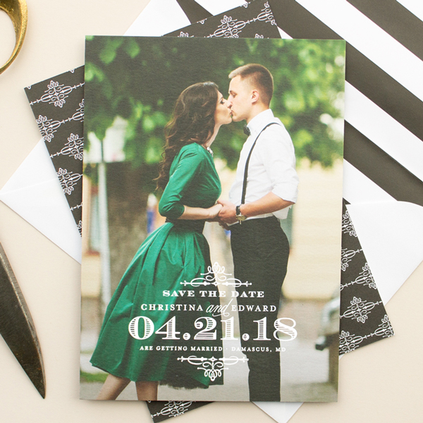 formal wedding save the dates