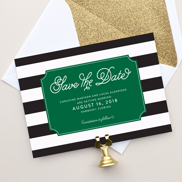 stripe save the dates