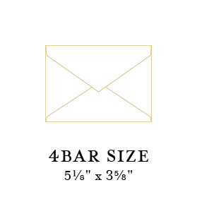 4bar envelope size