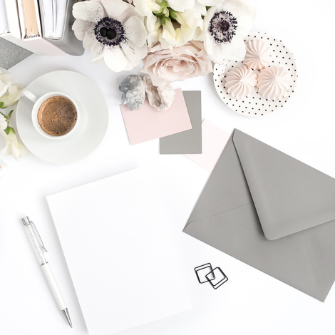 Custom wedding invitation design process banter and charm custom invitation design process stopboris Choice Image