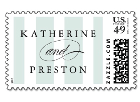 custom monogram postage