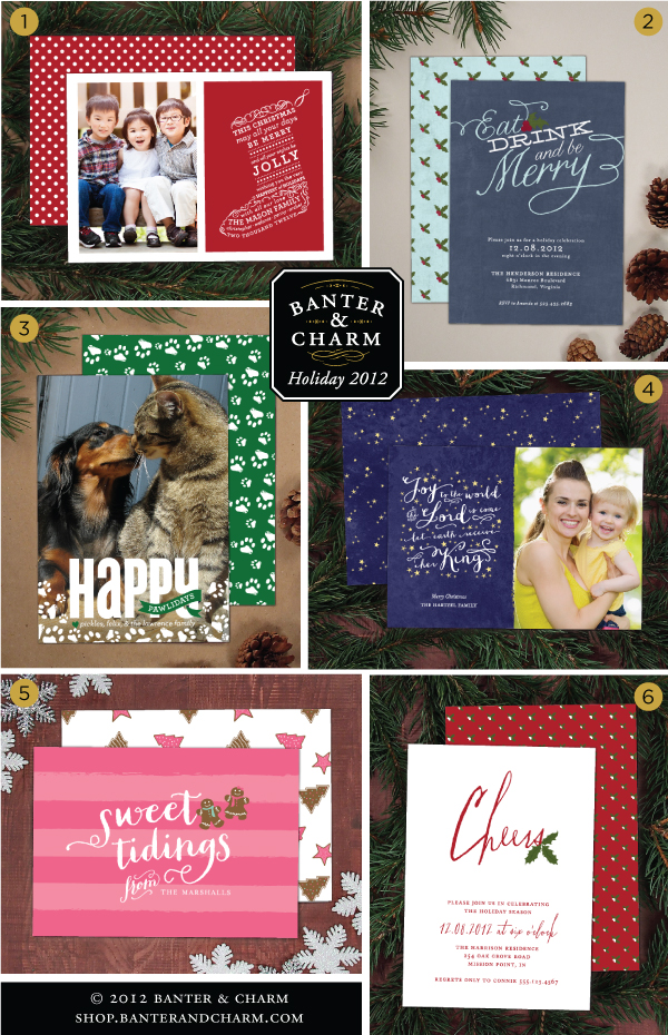 holiday photo card, christmas greeting card, cocktail party invitation, family photo card