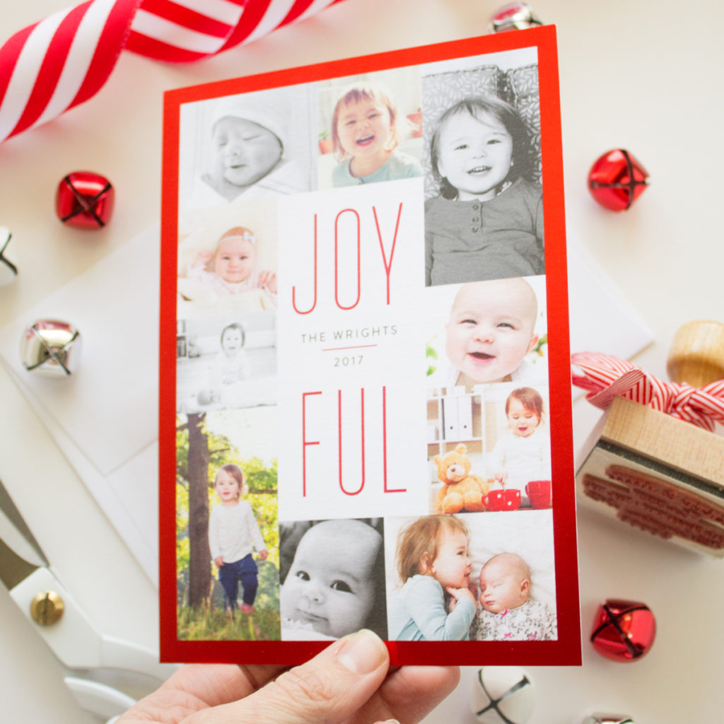 Foil Pressed Christmas Cards