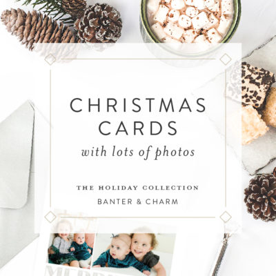 Christmas Cards with Lots of Photos | 2019 Holiday Collection