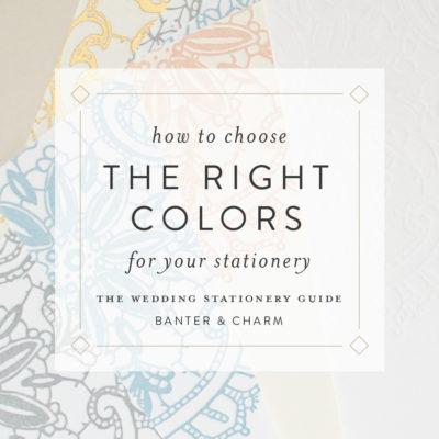 choosing ink colors