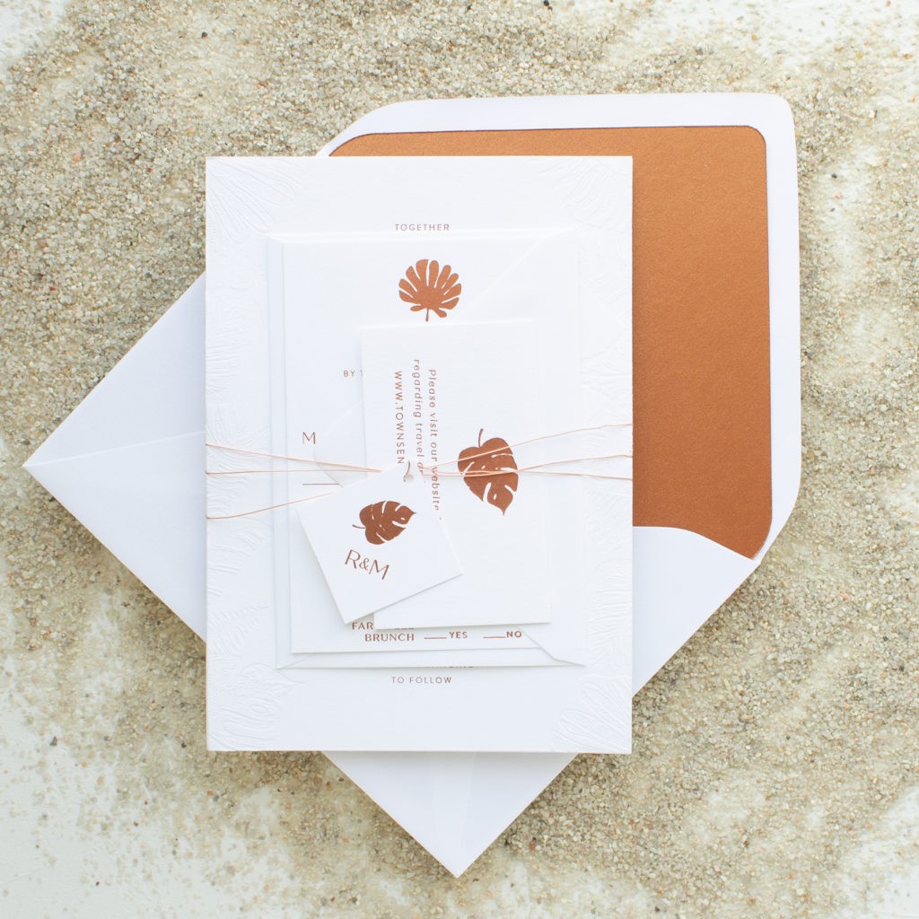 Email Wedding Invites: Destination Wedding Invitations