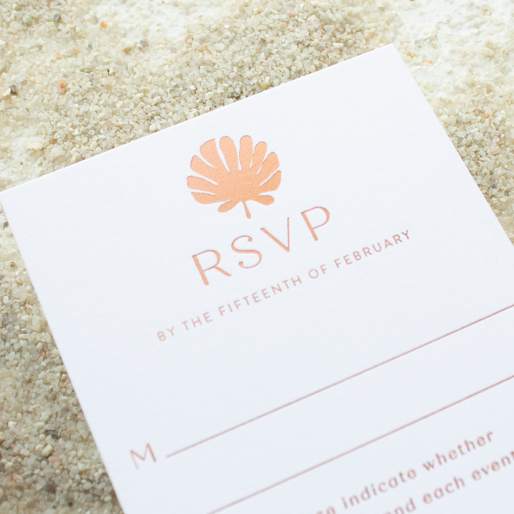 invitations for tropical destination wedding