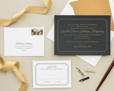 Dashing | Formal Wedding Invitation