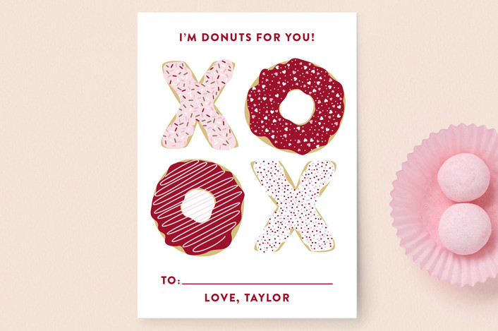 donuts for you classroom valentine