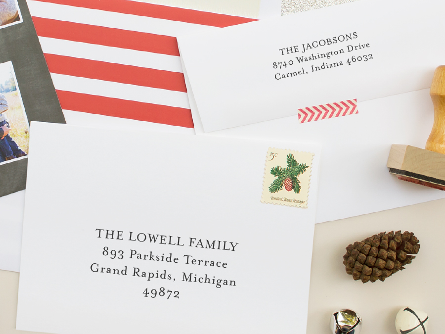 2014 Holiday Collection: Envelope Printing