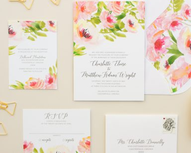 Ethereal | Watercolor Floral Invitation Suite