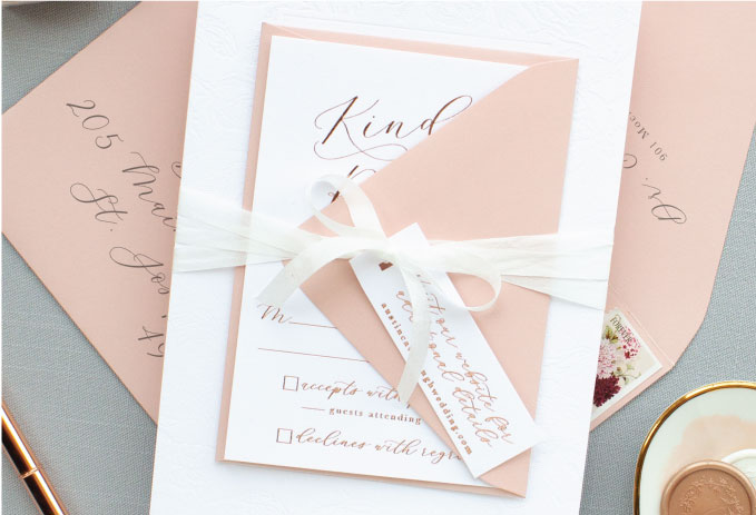silk ribbon with tag