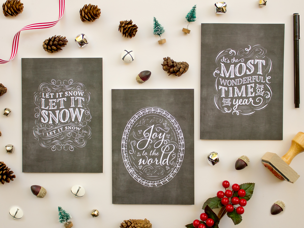 2014 Holiday Collection: Folded Greeting Cards