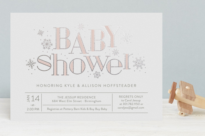 baby shower invitations for Minted