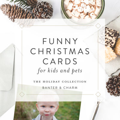 Funny Christmas Cards for Kids and Pets | 2019 Holiday Collection