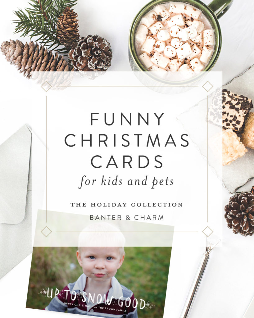 funny christmas cards for kids and pets