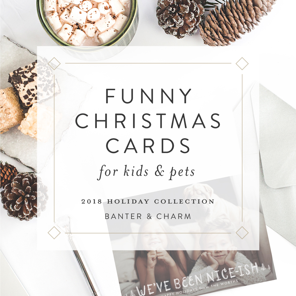 Funny Christmas Cards | 2018 Holiday Collection