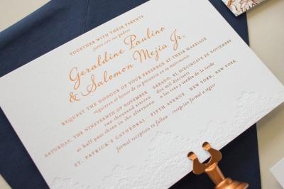 bilingual wedding invite