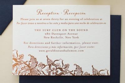 copper foil reception card