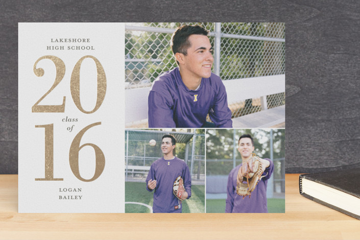 graduation announcements for Minted