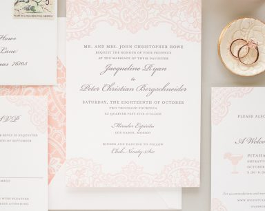 Hope | Traditional Letterpress Wedding Invitations