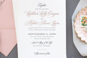 invitations for journeyman distillery wedding