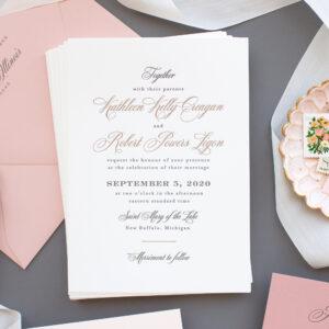 Invitations for Journeyman Distillery Wedding | Kathleen