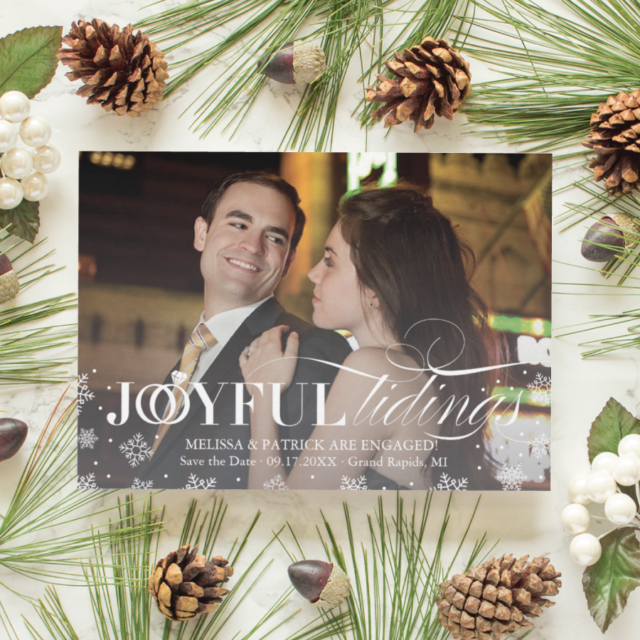 joyful tidings save the date