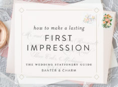make a lasting first impression