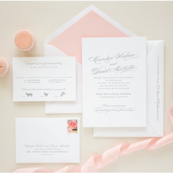 pricing for letterpress invitations