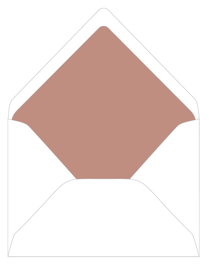 envelope liner colors
