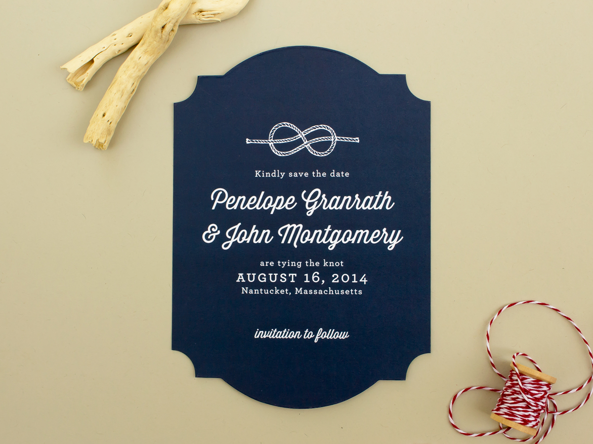 Nautical Wedding Save the Date