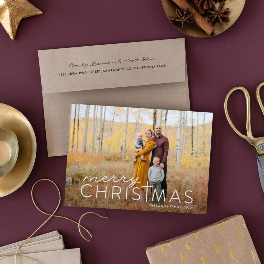 religious holiday cards for Minted
