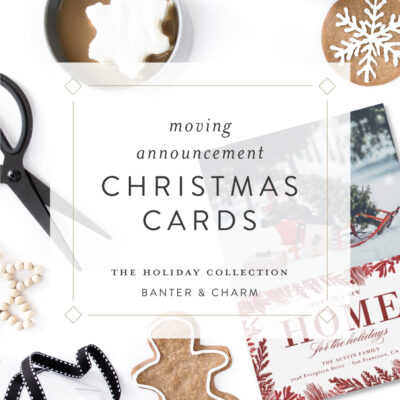 Moving Announcement Christmas Cards | 2021 Holiday Collection