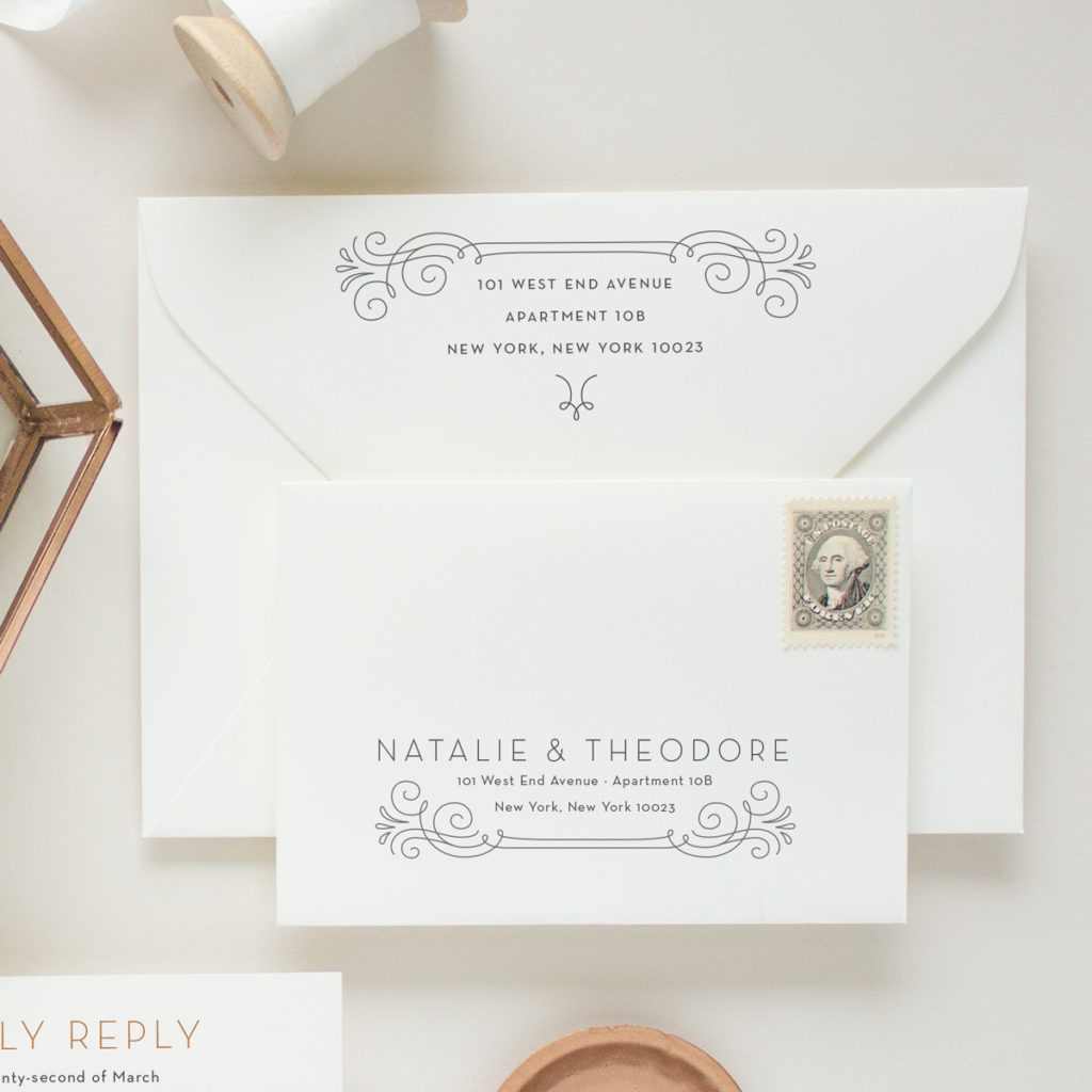 wedding invitation addressing