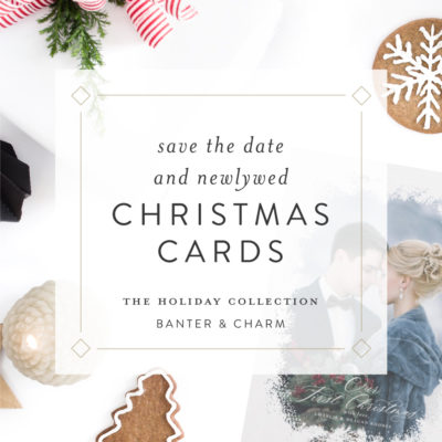 Newlywed first christmas cards
