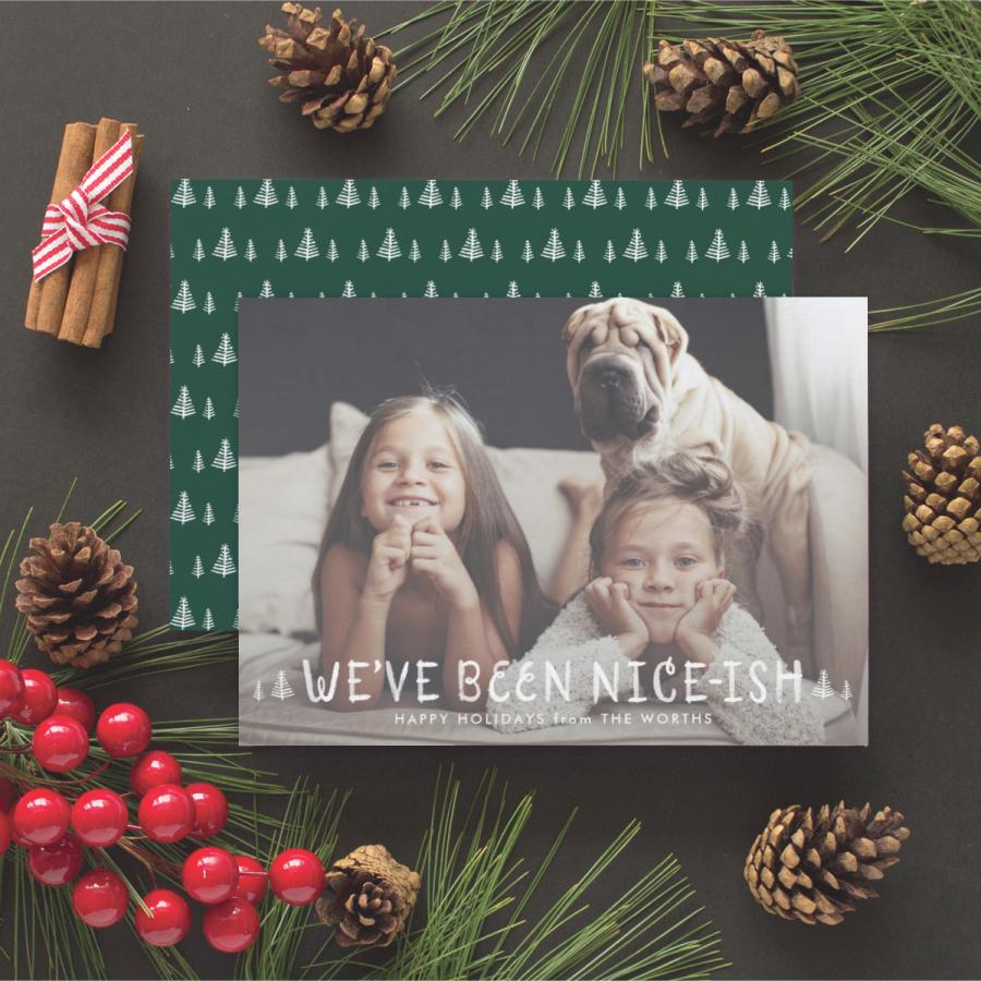 nice ish funny christmas card