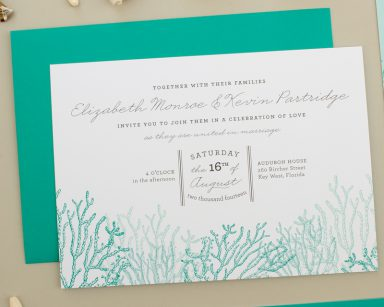 Reef | Beach Wedding Invitation Suite