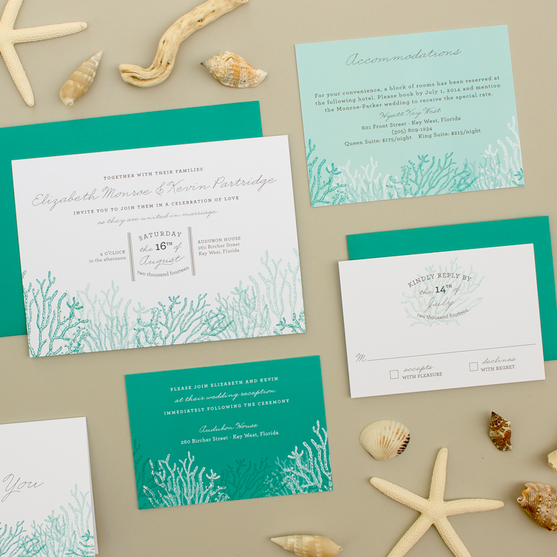 destination invitations for beach wedding