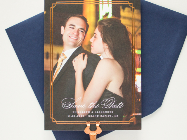 Refined Copper Foil Save the Date