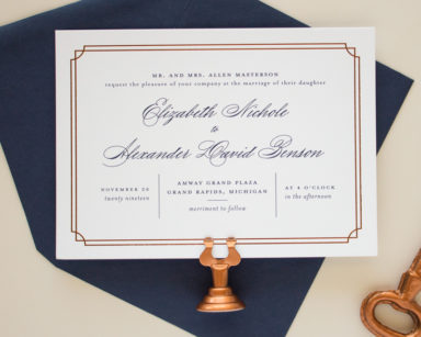 Refined | Formal Wedding Invitations