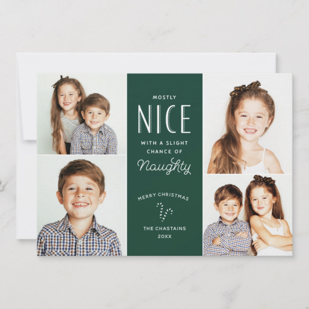 Mostly Nice funny christmas card