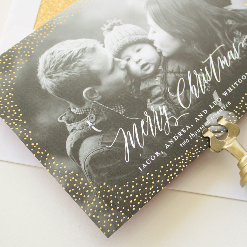 real gold foil stamping