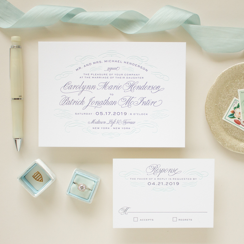 formal invitation suite