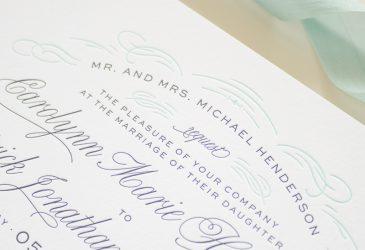 classic invitation design