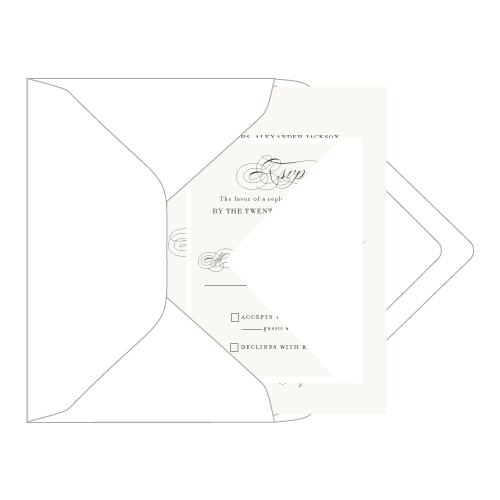 Stuffing wedding envelopes