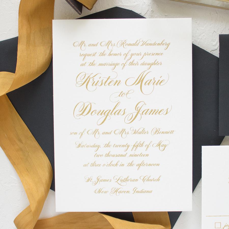 Sweetheart | Wax Seal Wedding Invitations - Banter and Charm