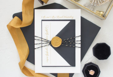 Wax Seal Wedding Invitations