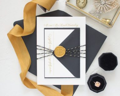 Wax Seal Wedding Invitations | Sweetheart