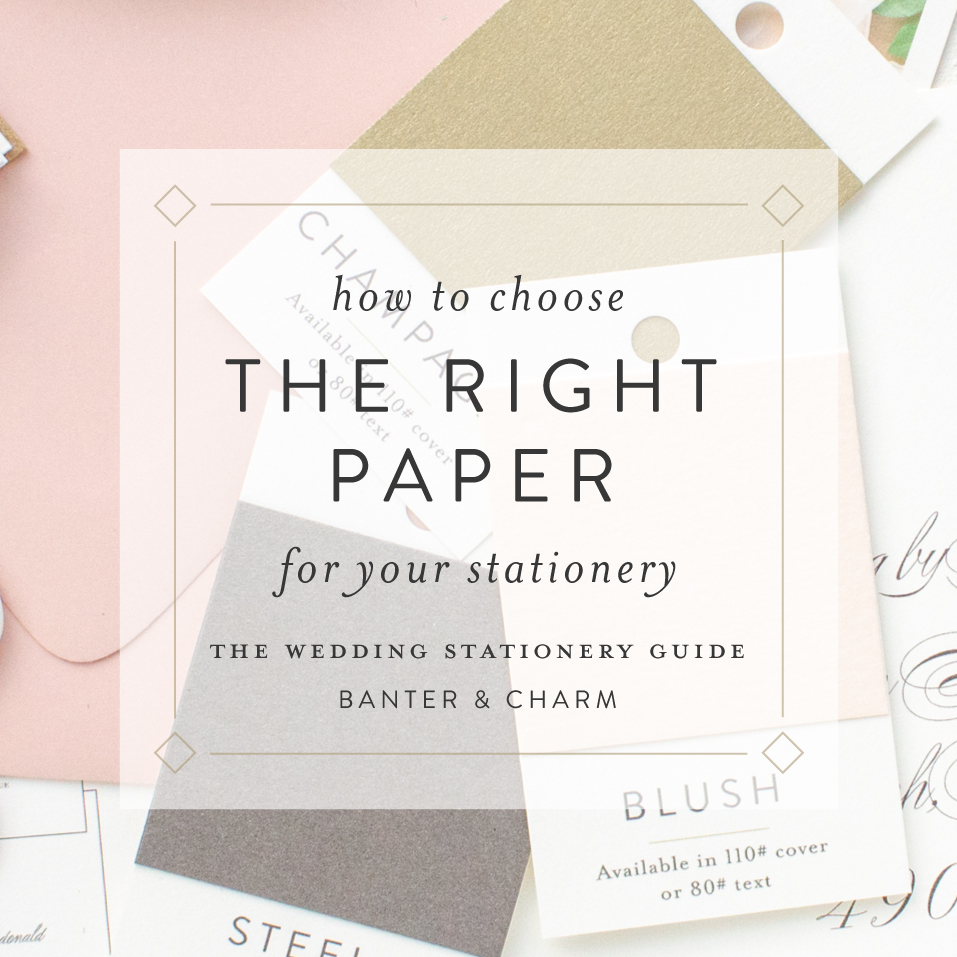 how to choose the right paper